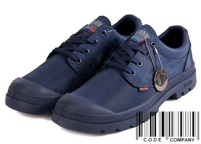 =CodE= PALLADIUM PAMPA OX PUDDLE LT+ WP 防水輕量軍靴(深藍)76116-400女