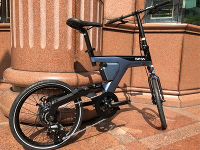 (J.J.Bike) 20吋 BESV PSF1 電動輔助折疊自行車 時尚剽悍高雅 電動智能輔助 8秒快速折疊 三段電力智能輔助 線上可分期