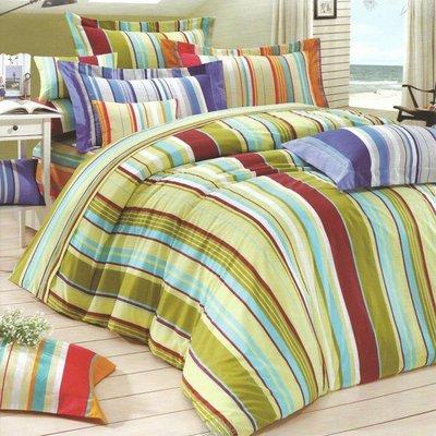 6期0利率【台灣製造】5.0呎X6.2呎-四件式-雙人兩用被床包組-鋪棉兩用被床包組-T4MT-5007GR幾何線條 新竹市