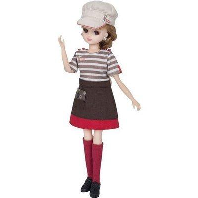 【現貨】莉卡娃娃 Mister Donut甜甜圈專賣店制服 (不含娃娃)   LA 82626