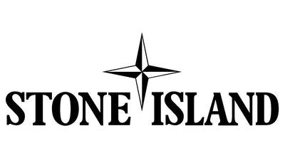Stone Island 黑 LOGO 橫幅 3m防水貼紙 尺寸120x30mm