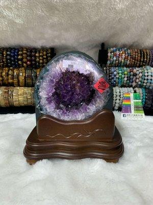 💎萬玉晶品💎巴西 高紫度 紫水晶 紫晶洞 帶鈦晶
