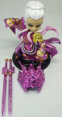 霹靂3D無雙名誌 魔吞十二宮系列【麒麟宮 素還真】粉紅電鍍版………免運費