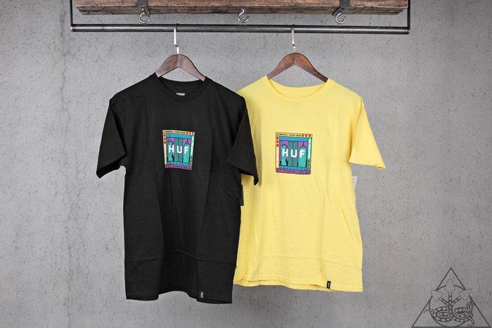 【HYDRA】HUF Gift Shop Box Logo T-Shirt 自由女神 短T【TS00587】