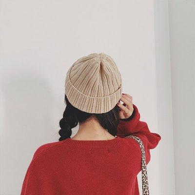 針織帽毛線帽毛帽秋冬韓版毛線帽女秋冬季韓版百搭日系可愛護耳少女韓國冬天情侶針織冷帽潮