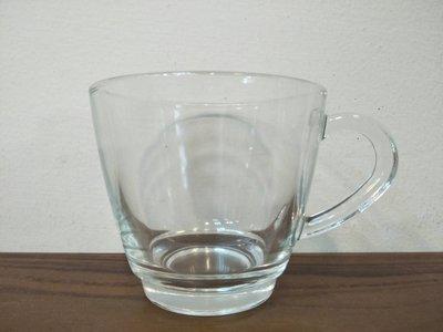 ~菓7漫5咖啡~透明玻璃咖啡杯 257cc T-I257-A257ml 玻璃杯 咖啡杯 有柄咖啡杯 茶杯 杯子 營業用