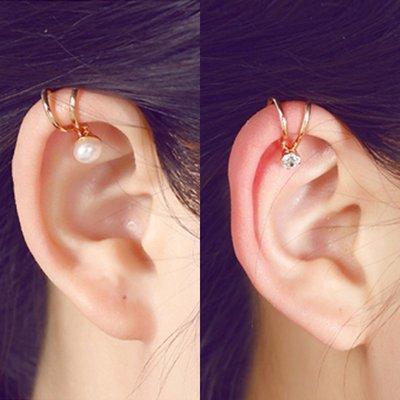 新款飾品韓國小飾品耳骨夾迷你耳扣耳釘無耳洞耳環耳飾復古簡約氣質耳夾女