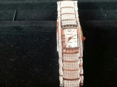 鑽錶 Harry Mason經典淑女不敗款 有保卡  原價18000  附贈寶島鐘錶一年保卡
