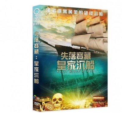 合友唱片 面交 自取 失落寶藏:皇家沉船 (DVD) Royal Wreck of Gold