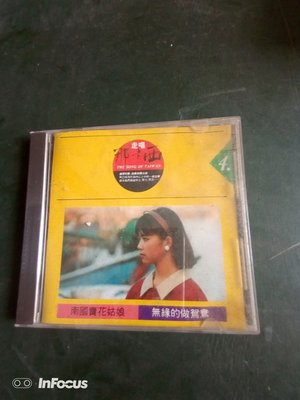 早期知名的影視歌星黃思婷的CD一個 ,非常希少