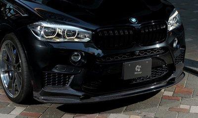 車之鄉 BMW 新X6 F16 M-TECH 3D碳纖維前下巴 , 另有碳纖維後下巴 , 合併購買另有優惠