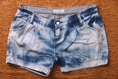 CUTTLE JEANS 淺刷色 牛仔休閒短褲~XL號《小喵二手衣》