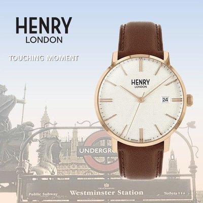 HENRY LONDON 英倫時尚菱格紋腕錶 英國前衛品牌REGENCY系列HL40-S-0348