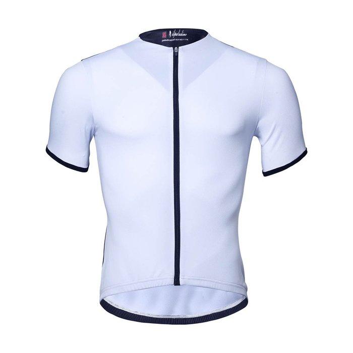 【ILPALADINO】競技型男士短袖車衣 :: 白