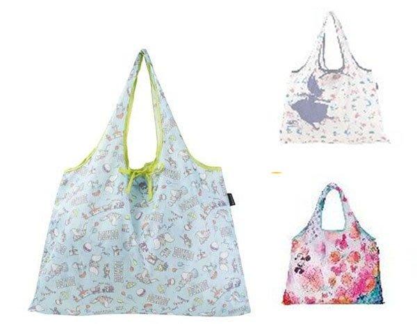東京家族 米妮 小飛象 艾莉絲 可摺疊回收 收納袋 3選1