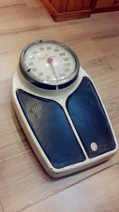 ~Cotton Milk 雜貨散步~ 美國鄉村雜貨 --- American鐵製老體重秤(Healthy scale)