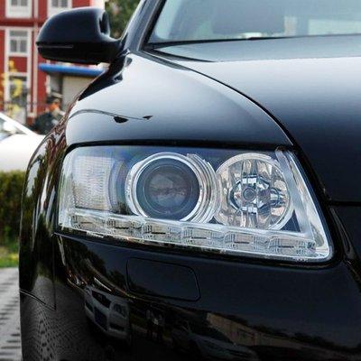 @上新 適用09奧迪A6L大燈罩99-11大燈殼07\/10前汽車透燈罩奧迪A6燈罩車