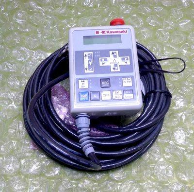 Kawasaki 0190-28840 REV.01 300424 TEACH PENDANT PLC 控制器 人機介面