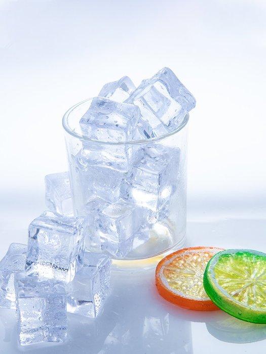 千夢貨鋪-仿真冰塊拍照道具美食擺拍化妝品攝影擺件碎冰假冰塊拍攝道具