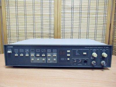 康榮科技二手測試儀器領導廠商Leader LT416 NTSC/PAL/SECAM Pattern Generator
