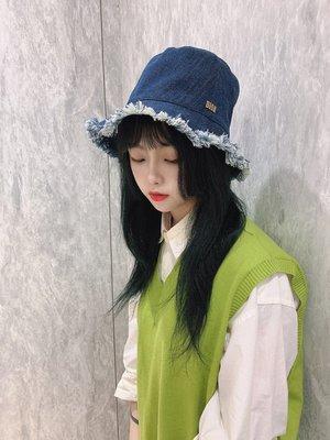 dior 牛仔流蘇抽鬚漁夫帽
