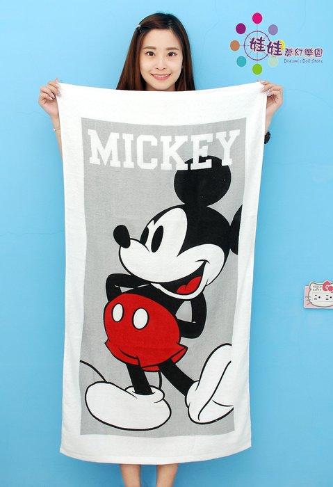 正版迪士尼~米奇米妮浴巾~米奇浴巾~迪士尼米妮浴巾~海灘巾~台灣製~大人浴巾/兒童浴巾都適用~