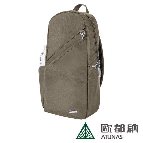 歐都納 TRAVELONTL CLASSIC 經典防盜斜背包 TL-42887 橄欖綠