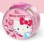 全新正版授權三麗鷗HELLO KITTY 凱蒂貓 45週年限定 圓型包 收納包 拉鍊包 置物包 鑰匙包 硬幣包 圓型包