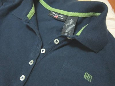 Polo Jeans Co藍色棉上衣(S)