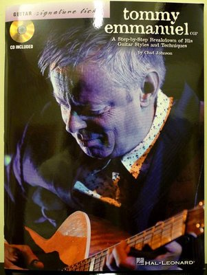 【卡比音樂工作室】-實體店面 - Tommy Emmanuel: A Step-by-Step Breakdown...