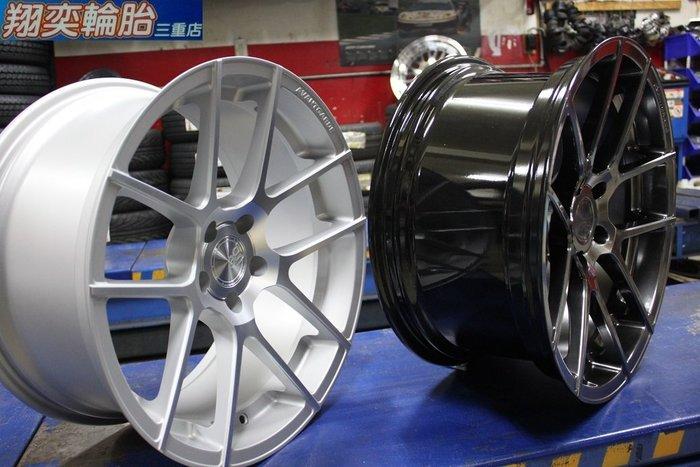 美國 AG WHEE M510  20吋 19吋 前後配 鈦銀 消光銀 大凹鋁圈 5X112 5X120
