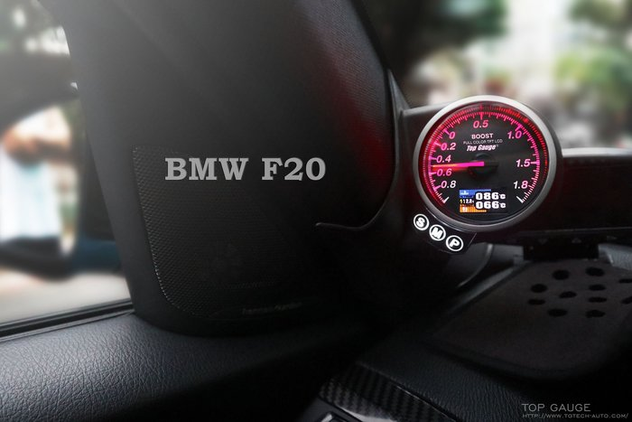 精宇科技 BMW F20 F22 F30 專車專用A柱錶座