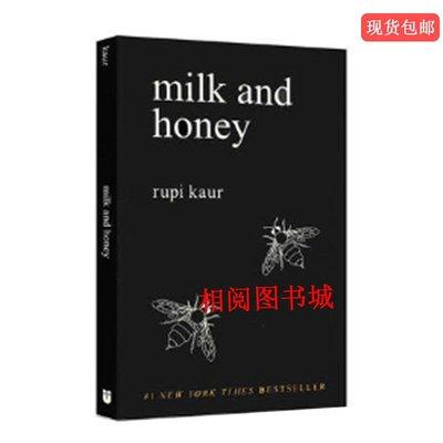 街角書屋 牛奶與蜂蜜 英文原版 Milk and Honey Rupi Kaur 心靈治愈書籍