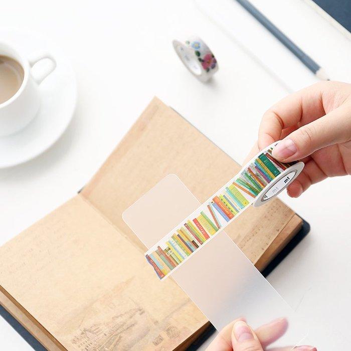 創意 漂亮手帳DIY用品 和紙膠帶分裝板 日用膠帶分裝片磨砂加厚圓角分裝板