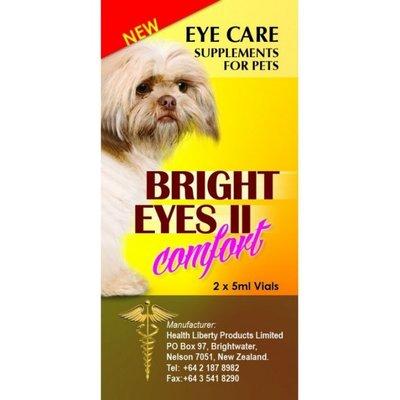 台北歡迎自取 Bright Eyes 寵物 晶亮 睛亮 滴劑 眼睛專用保養液 5ml*2瓶裝/寵物眼睛保養
