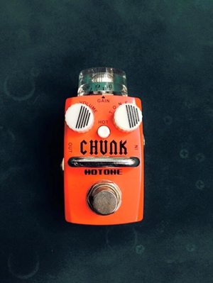 【大鼻子樂器】公司貨 Hotone Chunk Distortion SDS-1 超迷你 單顆 電吉他 破音效果器