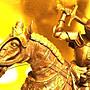 [ Vero 設計作品 鐵甲武士 馬上英姿-砍劍 ]-歐洲中古世紀 希臘羅馬武士.