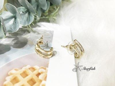 【海星 Starfish】璀璨之星 迷人設計風格耳環