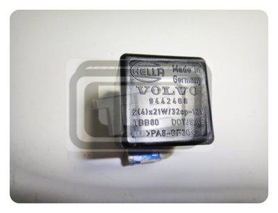 【TE汽配通】富豪 VOLVO 940 960 閃光器 FLASHER 含超車/安全帶指示燈 德國HELLA