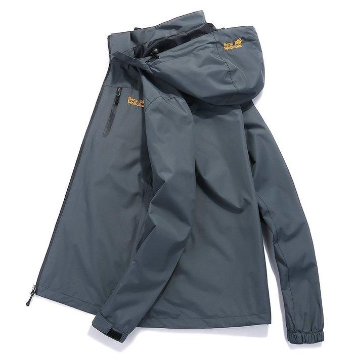 EASY NOW - 秋冬衝鋒衣外套戶外服防風防水衣外套防寒服登山服連帽外套