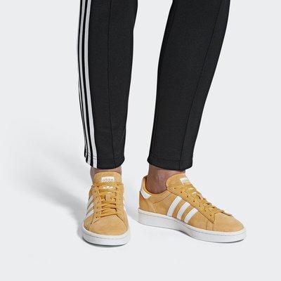 # ADIDAS ORIGINALS CAMPUS 80s 黃白 麂皮 休閒 復古 慢跑鞋 女鞋 AQ1071 YTS