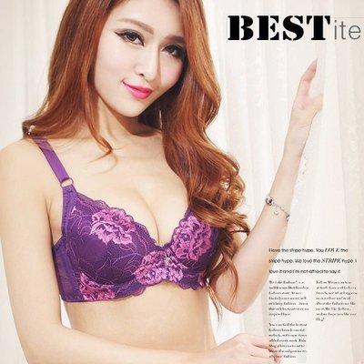【免免線購】紫色芙蓉。超軟Q小B罩內衣--單上衣