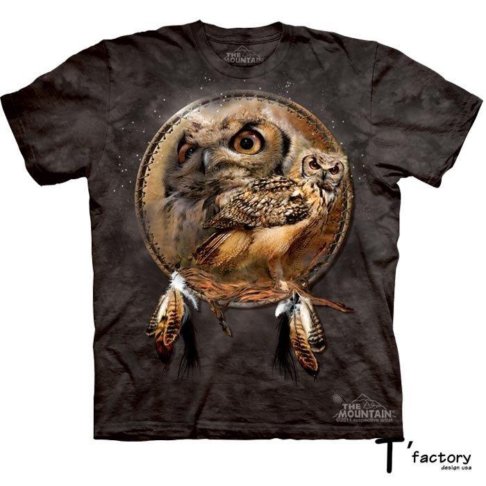 【線上體育】The Mountain 短袖T恤  S號 貓頭鷹
