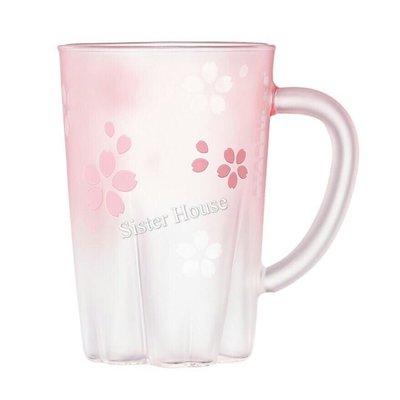 Starbucks Korea 2019 Cherry Blossom Handle Glass 355ml 星巴克韓國櫻花有柄玻璃杯