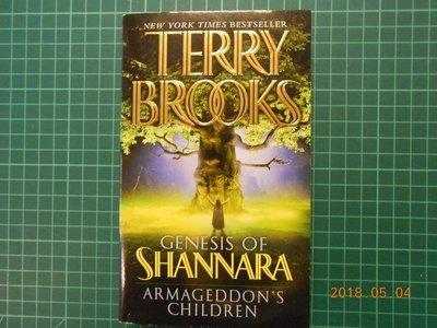 《 TERRY BROOKS -- ARMAGEDDON'S Children》【CS超聖文化2讚】