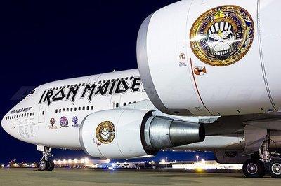 **飛行夢想**Inflight 1/200 鐵娘子樂團 IRON MAIDEN 747-400 TF-AAK