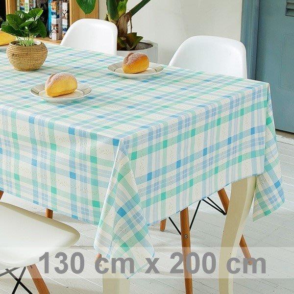 防水桌巾 桌布 經典時尚格紋 小碎花 長方形 餐桌 野餐墊 紅格紋 藍綠格紋 抗靜電 │悠飾生活│