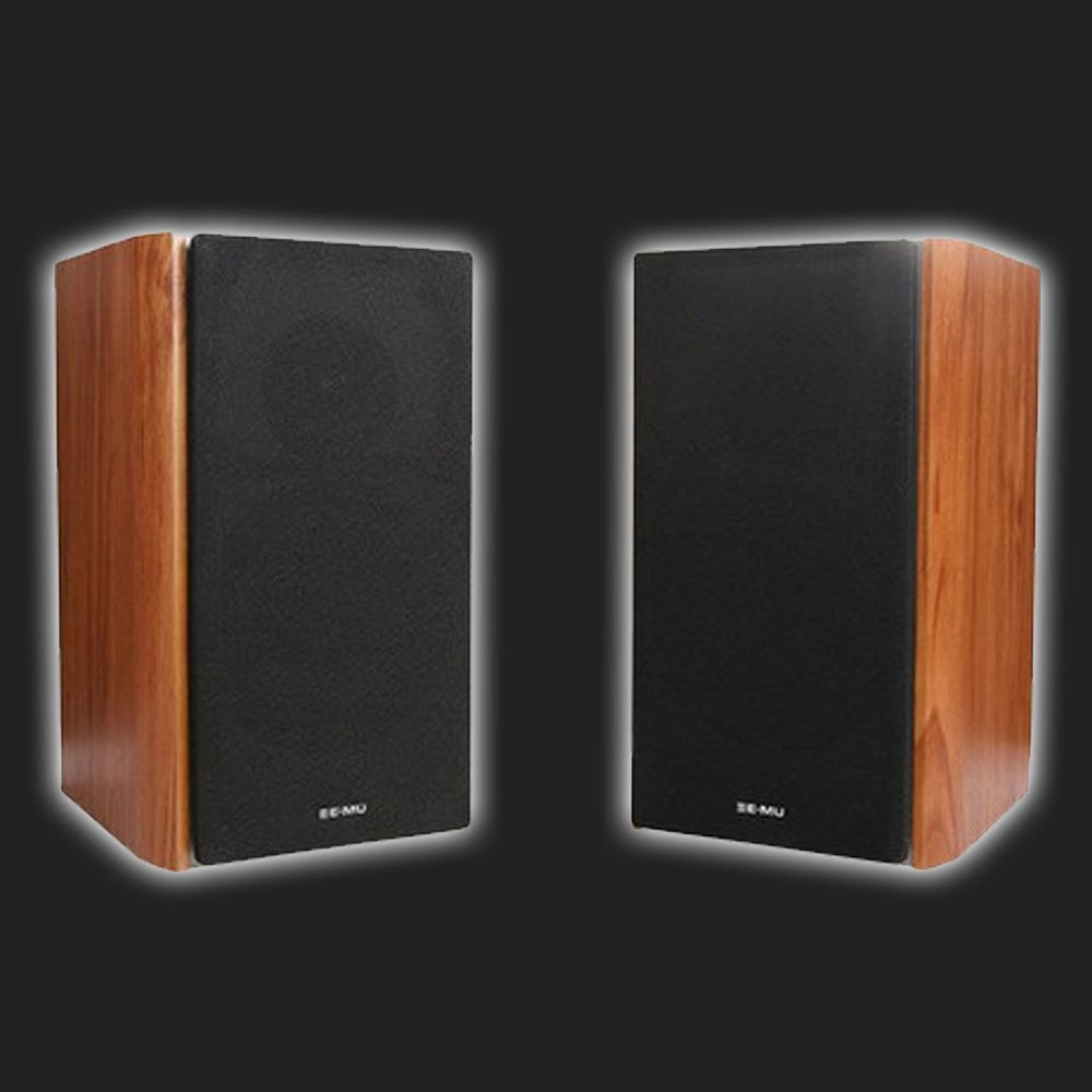 5Cgo【發燒友】Creative E-MU XM7 豪華木質無源監聽級 Hi-Fi 品質無源書架音箱喇叭音樂