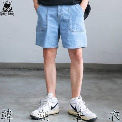 代購Boxsensei正韓THE N AKTA. Putty獨特口袋線點牛仔短褲 韓貨韓製 東大門男裝 GDA 韓潮著衣