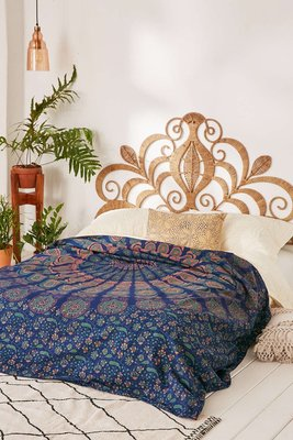Urbanoutfitters 歐美民族風手染牆上裝飾掛布掛毯壁巾 海灘巾 床單 野餐墊 沙發巾 桌巾 地墊 瑜珈墊